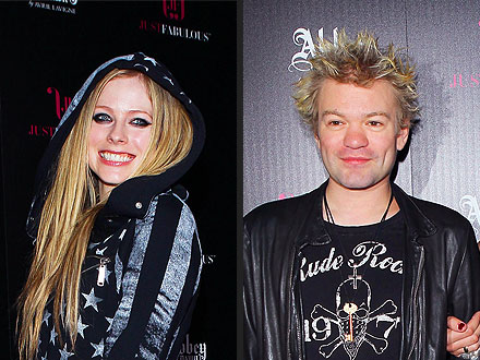 Avril Lavigne & Deryck Whibley's Close (and Friendly!) Encounter in L.A.