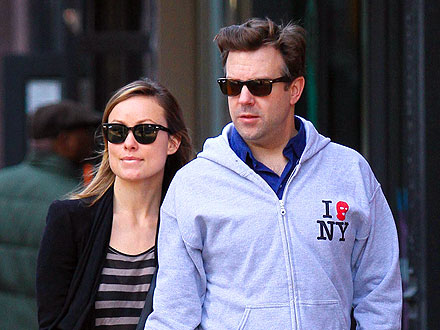 Olivia Wilde and Jason Sudekis Snuggle at South by Southwest