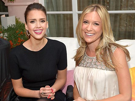 Kristin Cavallari & Jessica Alba Bond Over Motherhood in L.A.