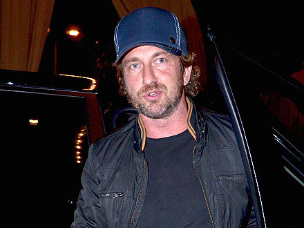 Gerard Butler and Gabriel Aubry Hit Hollywood Hotelier's Birthday Bash
