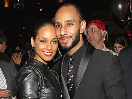 Alicia Keys & Swizz Beatz Bid Against Each Other at Charity Auction