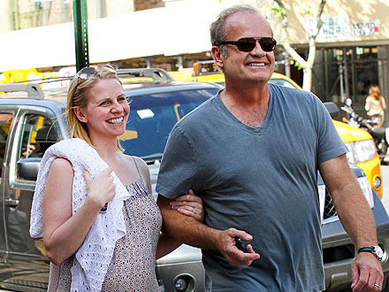 Kelsey Grammer Gushes About His Twins at Cigar Lounge