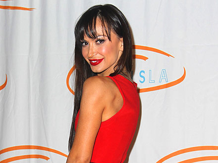 Karina Smirnoff Avoids Temptation in Beverly Hills