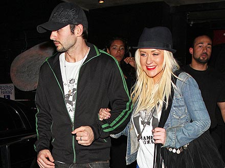 Christina Aguilera Celebrates Gay Pride in Los Angeles
