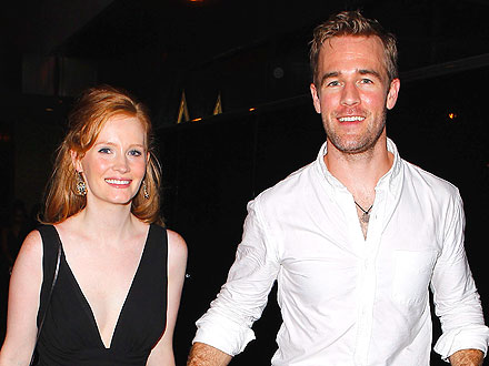 James & Kimberly Van Der Beek Hit West Hollywood's Newest Nightclub