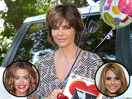 Lisa Rinna Parties with Celebrity Pals (and a Drool-Worthy Menu) for Her Birthday