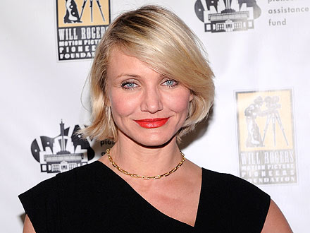 Cameron Diaz Strips Down to Her Sports Bra at N.Y.C. Bash