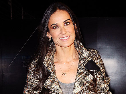 Demi Moore Goes Incognito While Attending a Musical in N.Y.C.