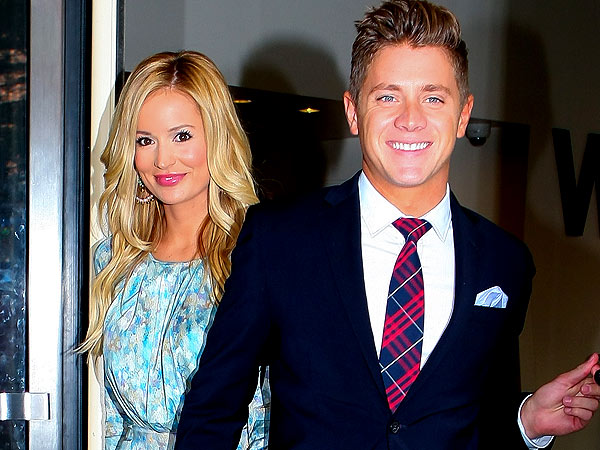 Emily Maynard and Jef Holm's Shopping Day at the Beach
