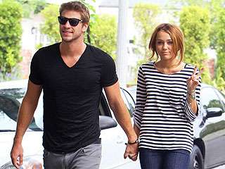 Miley Cyrus Picks Up the Tab During Date Night with Liam Hemsworth &#38; Pals | Liam Hemsworth, Miley Cyrus