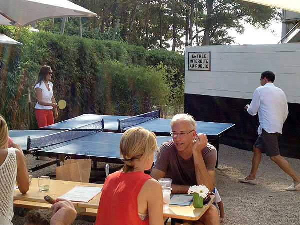 Pippa Middleton Dines in New York City, Plays Ping Pong in the Hamptons