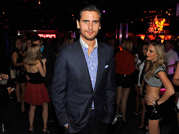 Scott Disick Parties with the Pussycat Dolls in San Diego