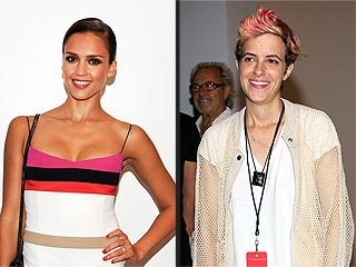 What Was Jessica Alba's 'DJ Sandwich' All About in N.Y.C.? | Jessica Alba, Samantha Ronson