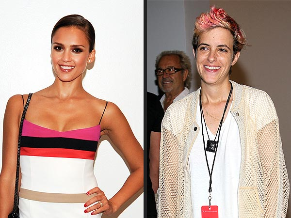 What Was Jessica Alba's 'DJ Sandwich' All About in N.Y.C.?