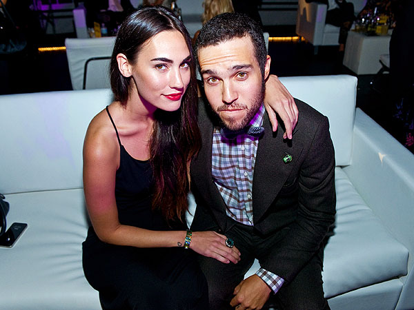 Pete Wentz 'Crashes' Party in Chicago