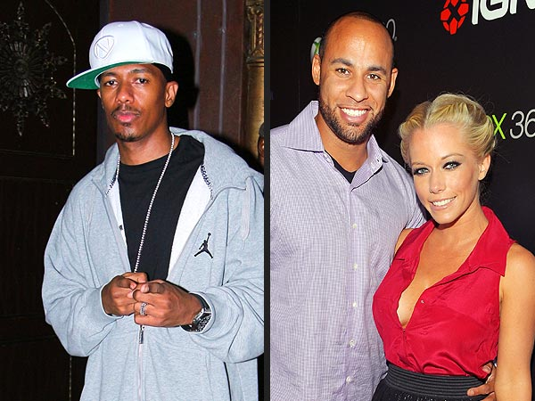 Nick Cannon - Mariah Carey, Twins Monroe and Moroccan