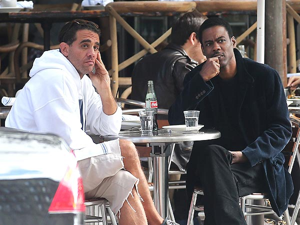 Chris Rock & Bobby Cannavale Find Themselves in a Pickle in N.Y.C.