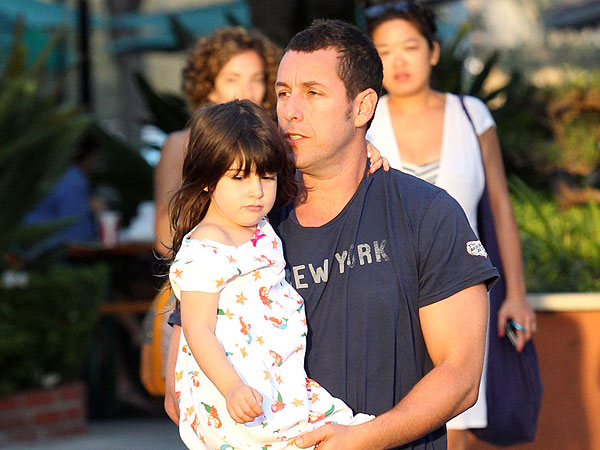 Adam Sandler Films Daughter's Karaoke Performance