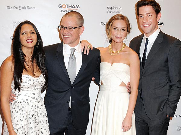 Matt Damon & Marion Cotillard Honored at Gotham Film Awards in New York