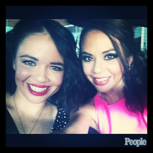 Teen Choice Awards: See Janel Parrish Glam Up!