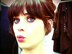 Mwah! Stars' Best Kissy Faces | Zooey Deschanel