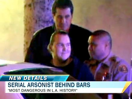 Harry Burkhart, German National, Arrested in Los Angeles Arson Fires