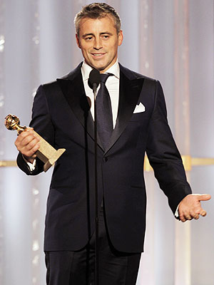 Golden Globe Winners: Matt LeBlanc Reveals Lucky Charm