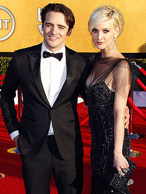SAG Awards 2012: Ashlee Simpson and Vincent Piazza Date Night