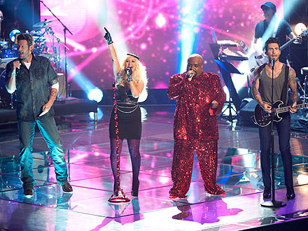 The Voice Coaches to Perform Prince Medley