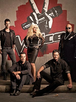 The Voice Goes Live with Team Blake and Team Christina