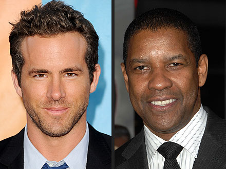 Denzel Washington: Ryan Reynolds Gave Me a Black Eye