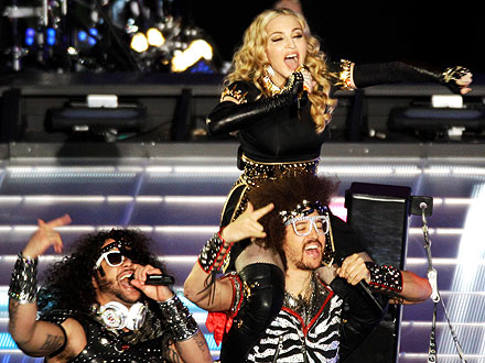 Madonna Half Time Show 2012; Kelly Clarkson National Anthem