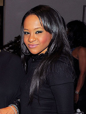 Bobbi Kristina Seeks Family Comfort After Whitney Houston's Funeral
