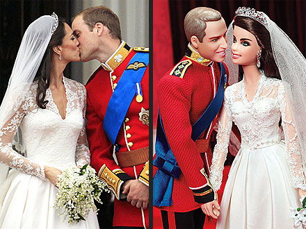 William & Kate, Ken & Barbie