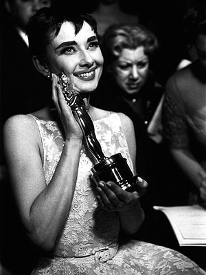 Academy Awards: Photos from Past Oscars - Audrey Hepburn