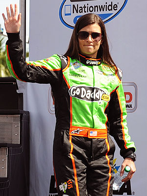 Daytona 500 - Danica Patrick Is the First Woman to Win Pole Slot