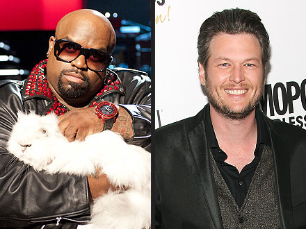 The Voice: Blake Shelton Avoids Cee Lo's Cat