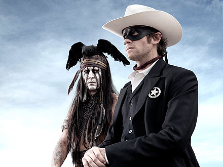 Johnny Depp Is Tonto in The Lone Ranger