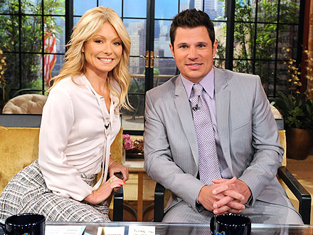 Nick Lachey Says He'll Coach Vanessa in the Delivery Room | Kelly Ripa, Nick Lachey