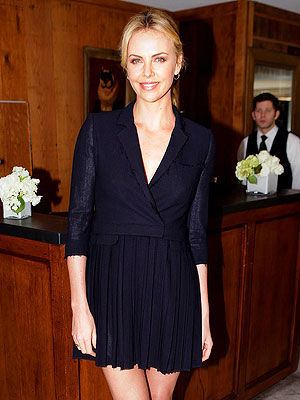 Charlize Theron Adopts Son