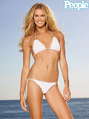 Elle Macpherson Poses in a Bikini for the First Time in 6 Years