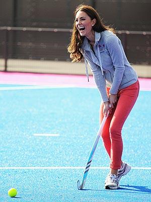 Duchess of Cambridge, Hockey Player