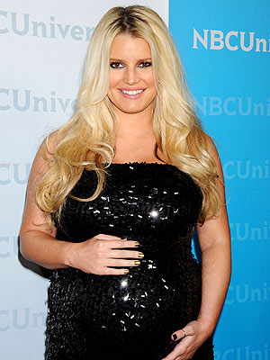 Jessica Simpson Baby Not Here Yet