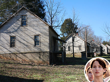 Hunger Games: See Katniss's House in Person!