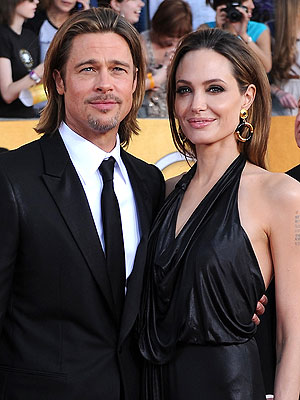 Angelina Jolie & Brad Pitt Take Kids to France for Some Fun