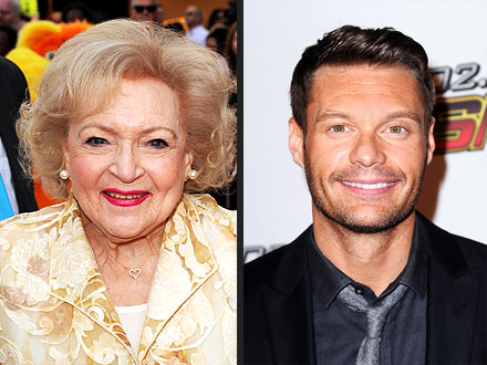 Betty White Joins Twitter, Flirts with Ryan Seacrest