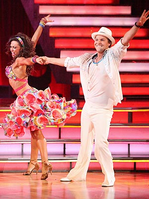 Gavin DeGraw, Karina Smirnoff Eliminated from DWTS