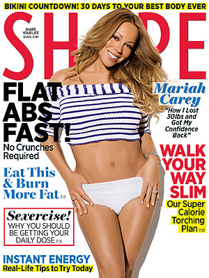 Mariah Carey Body After Baby Pictures - Shares Secret to Weight Loss