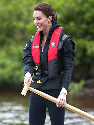Kate Middleton Quietly Volunteers with Scouts on Anglesey