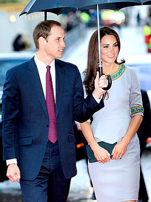 Prince William and Kate Attend Wedding During Anniversary Weekend